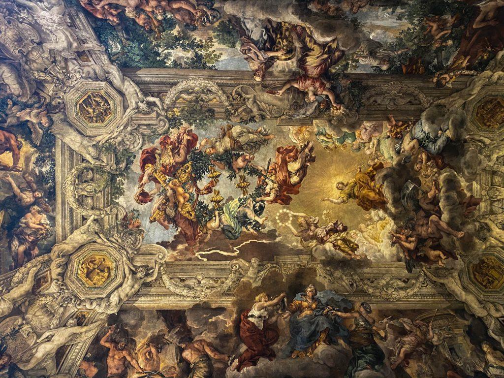 Fresco in the Palazzo Barberini