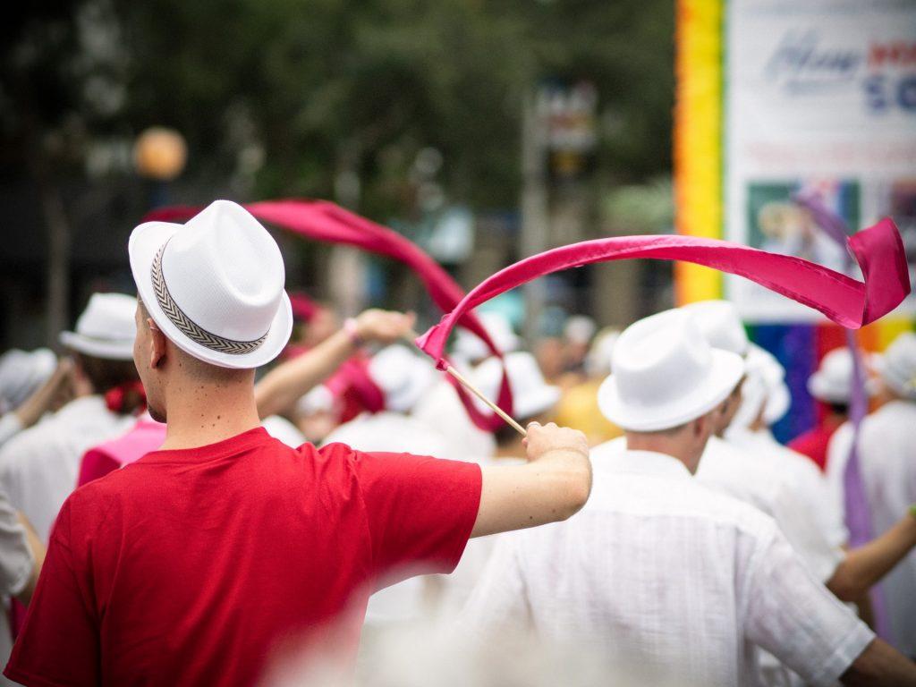 LGBTQ Pride Parade in West Hollywood