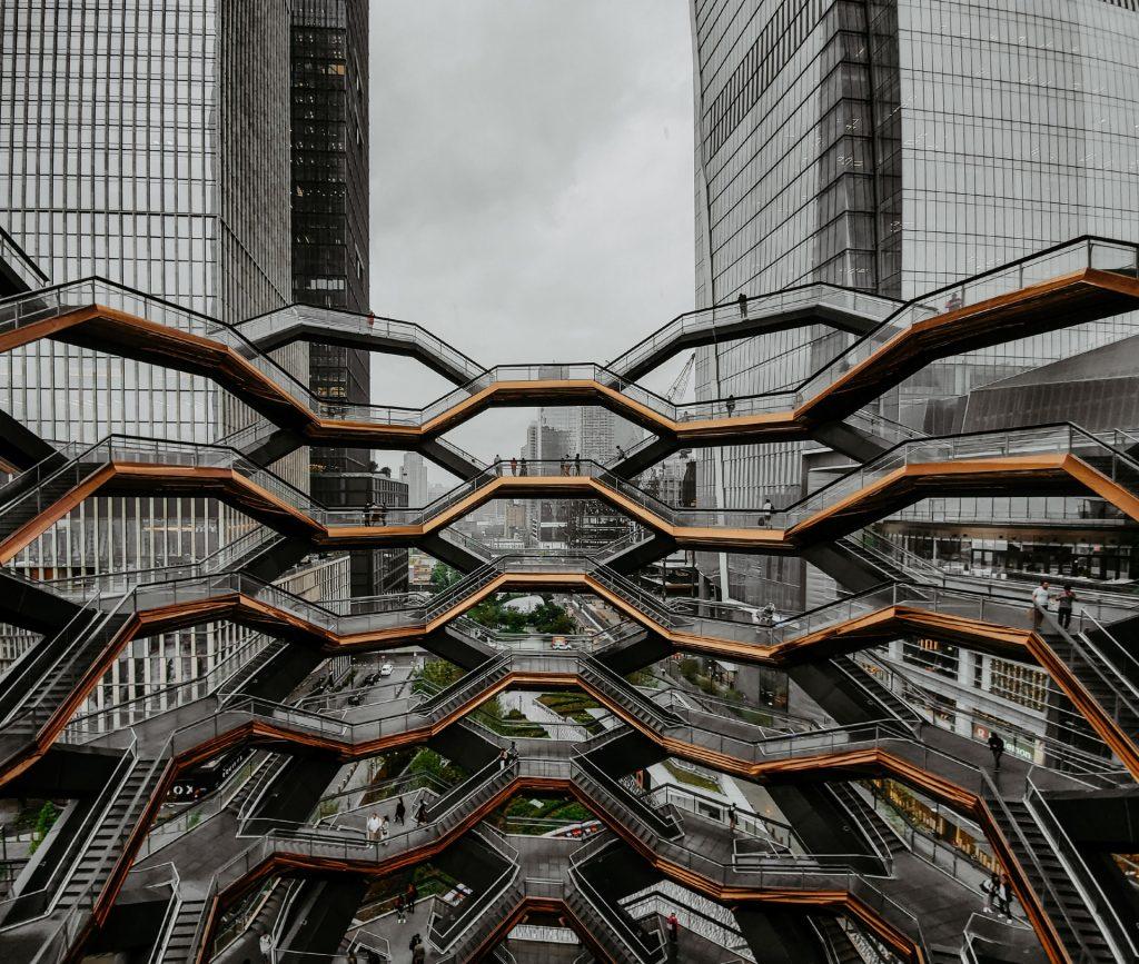 Vessel sculpture in Hudson Yards 2