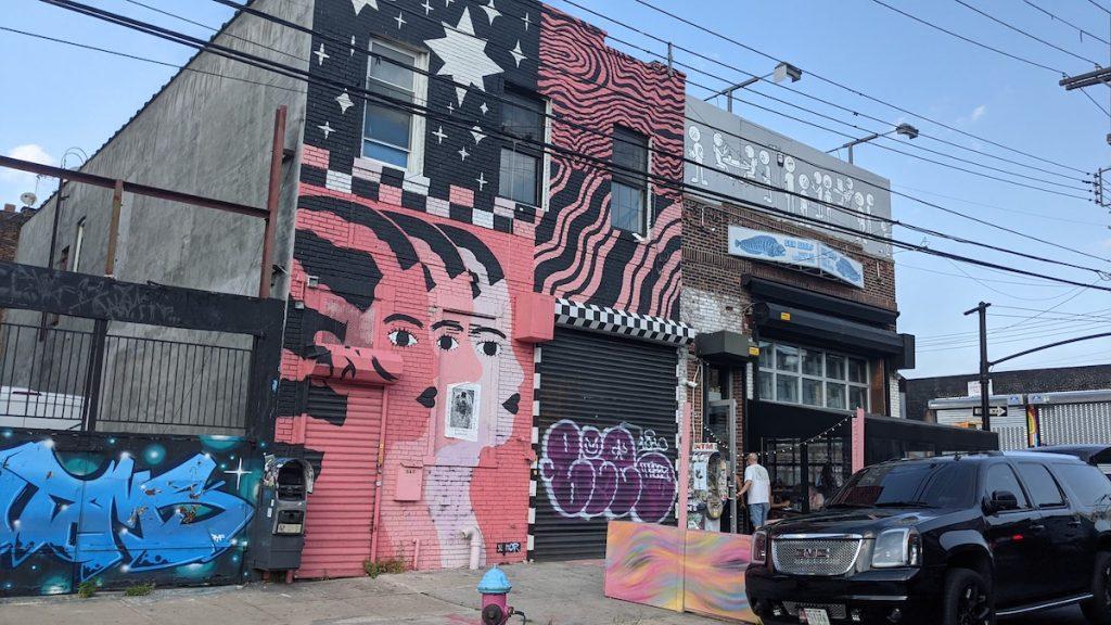 street art murals in Bushwick NYC