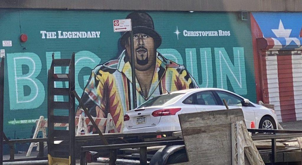 Big Pun memorial Wall, the Bronx