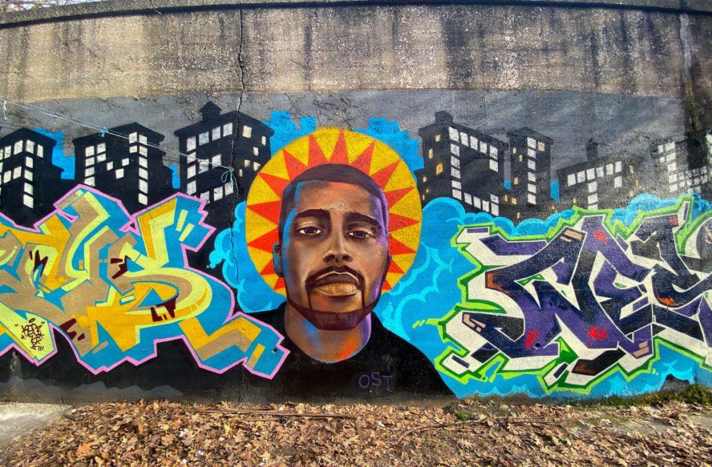 Bronx mural street art