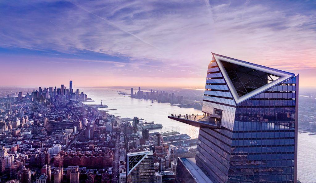 Edge outdoor skydeck, New York City