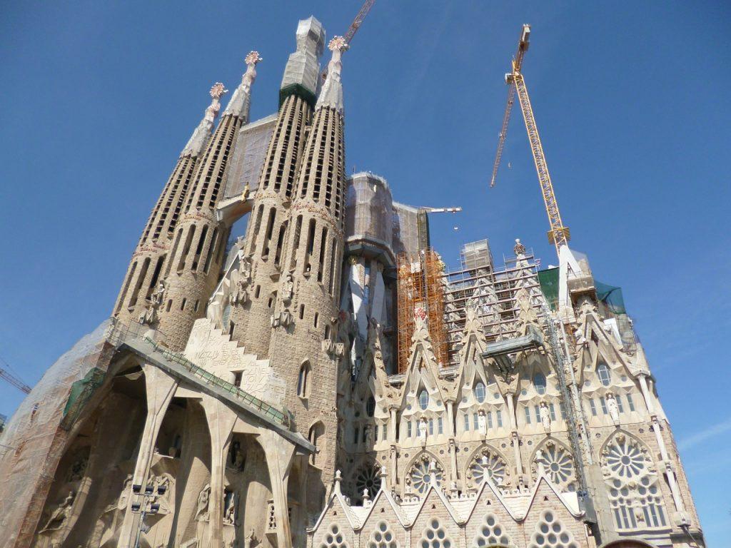 Sagrada Familia under construction