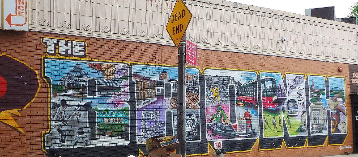 Bronx Graffiti Mural