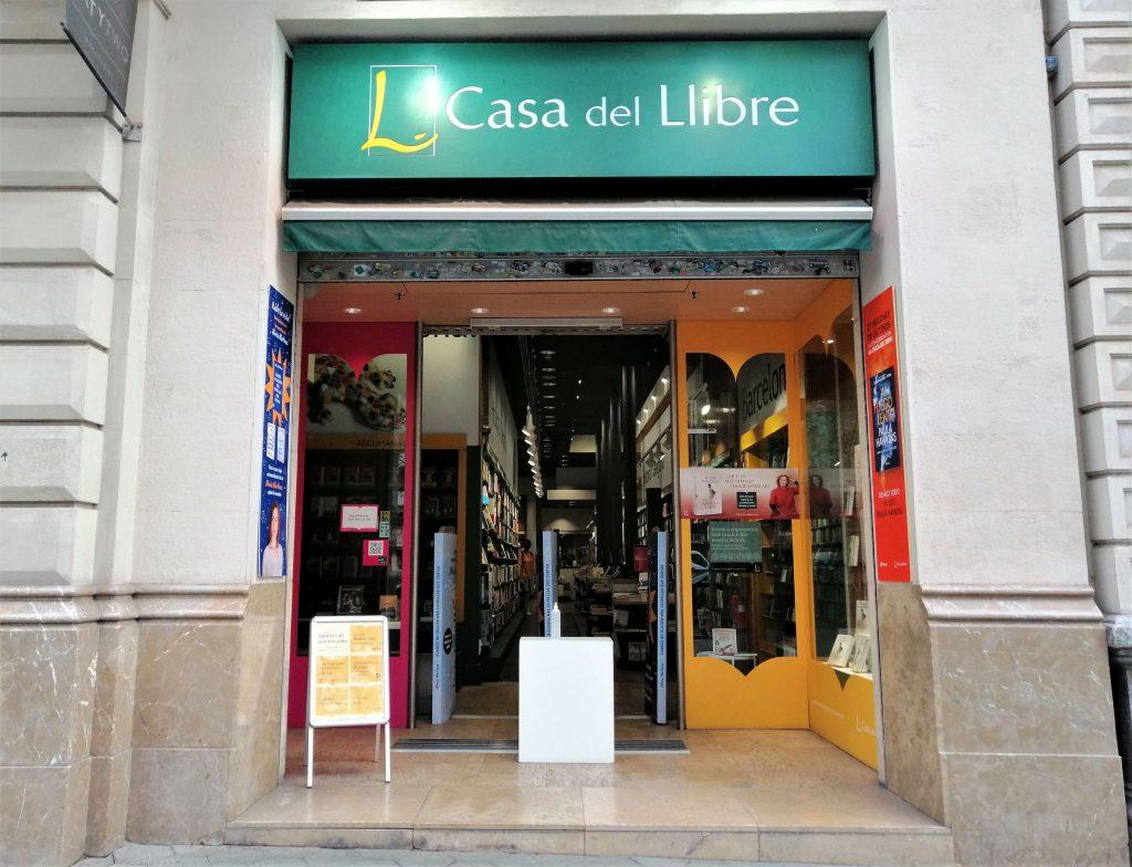 La Casa del Llibre, Passeig de Gràcia, Barcelona