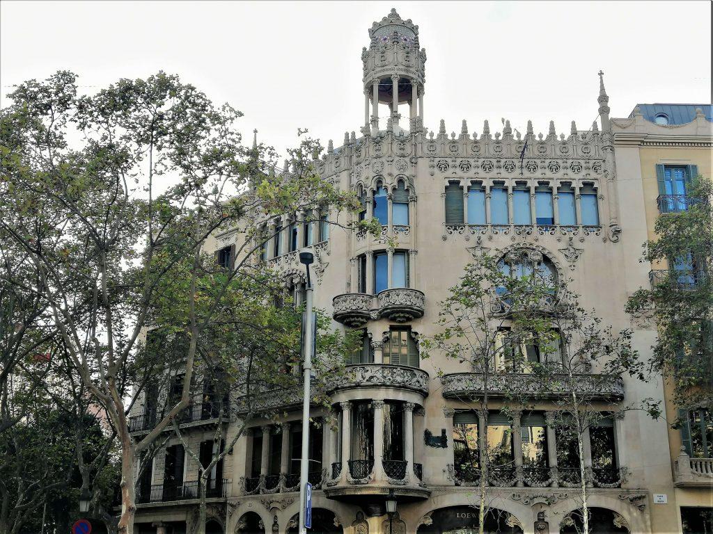 Casa Lleó i Morera, Passeig de Gràcia, Barcelona