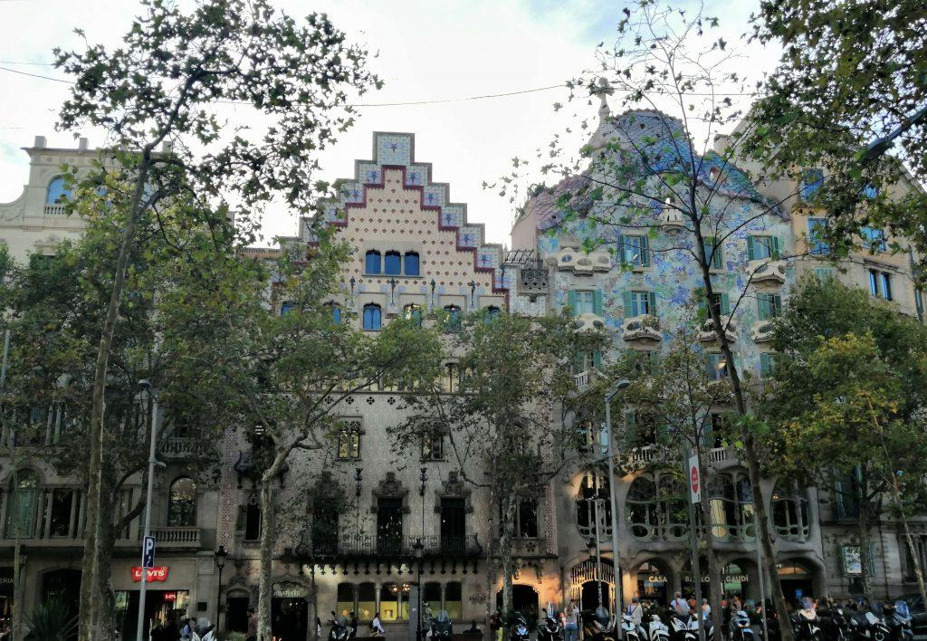 The Block of the discord, Passeig de Gràcia, Barcelona