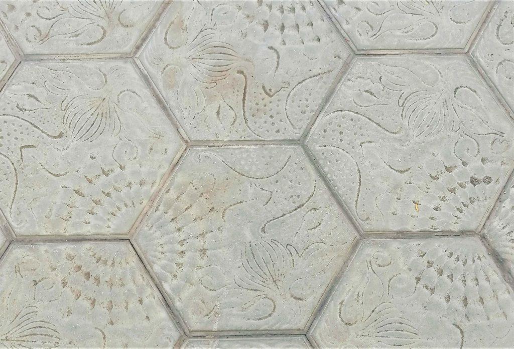 Tiles of Passeig de Gràcia, Barcelona