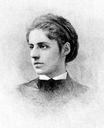 Portrait of Emma Lazarus
