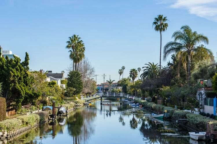Venice canals daytime