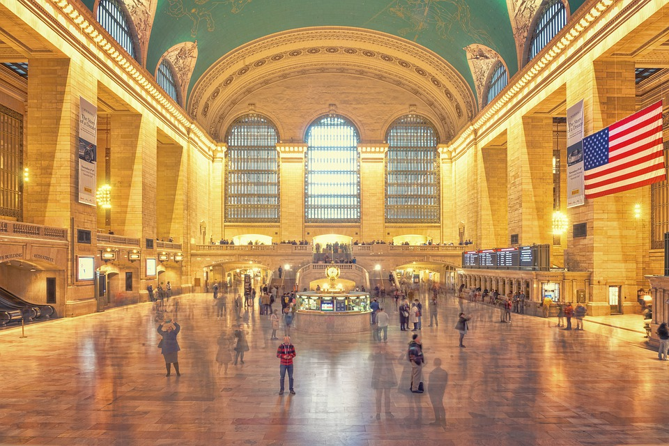 The Main Concourse at Grand Central Terminal