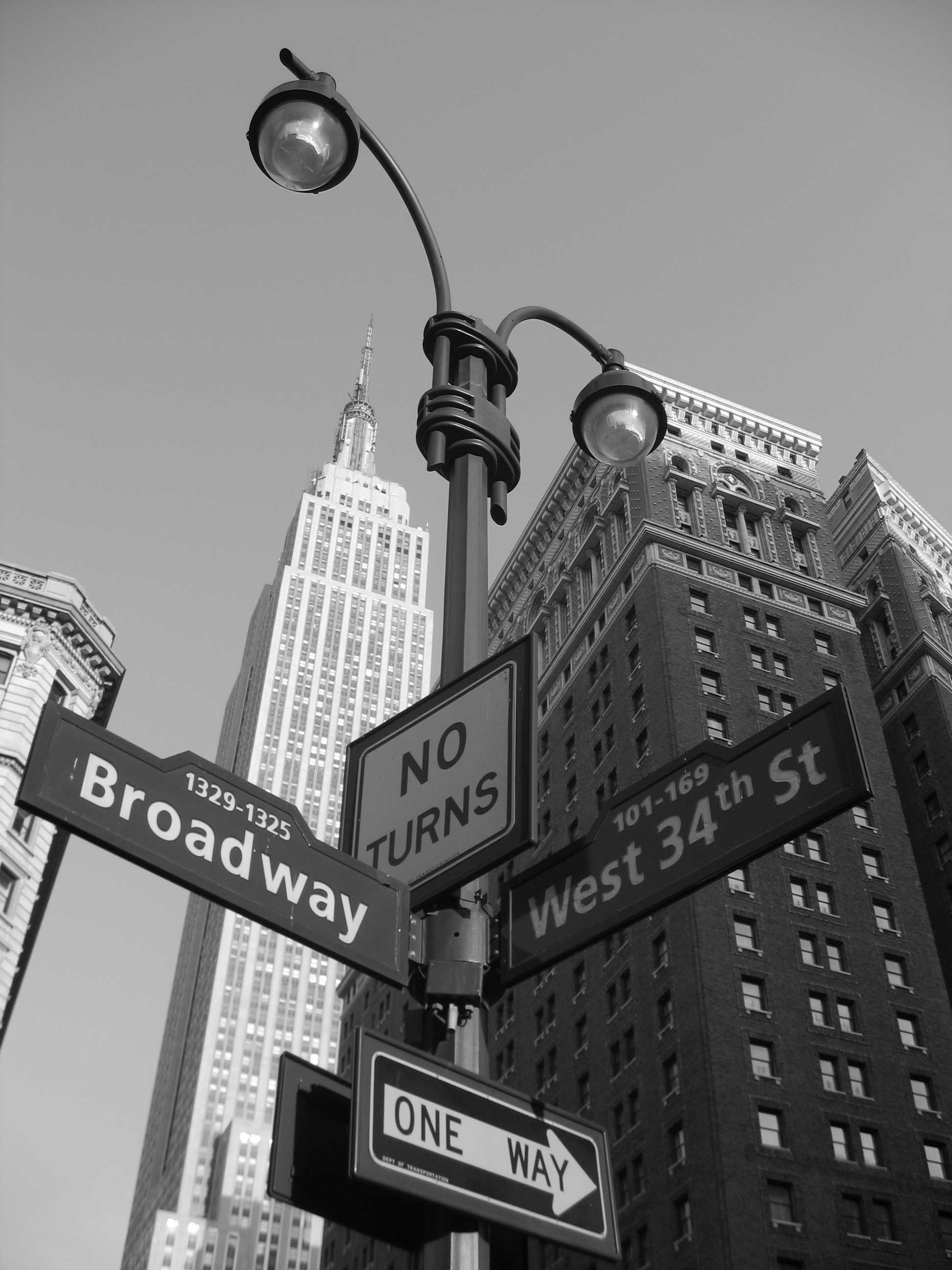 Street Signs and Buildings