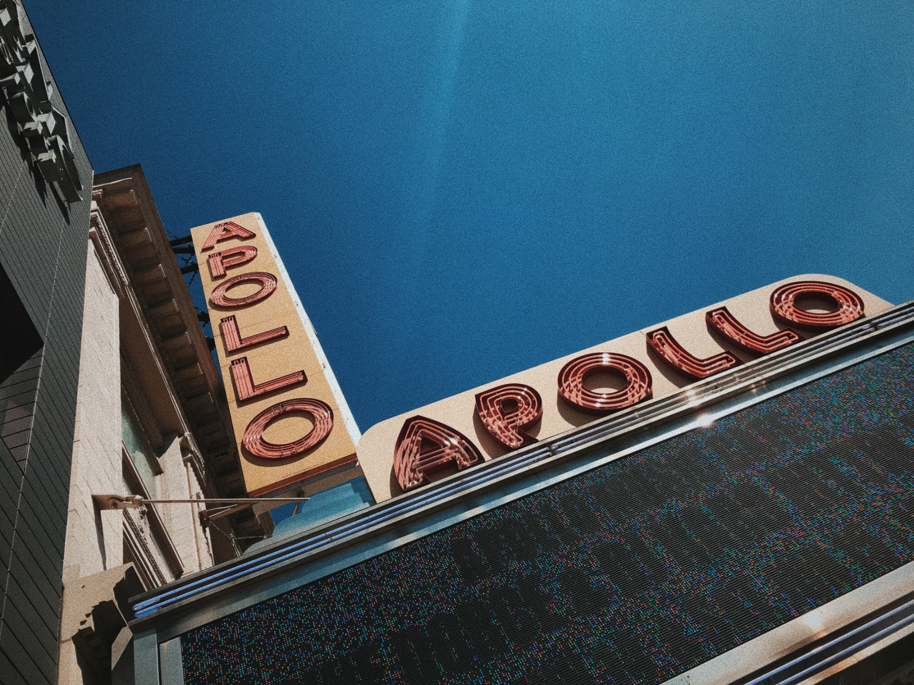 The Apollo Theater in Harlem