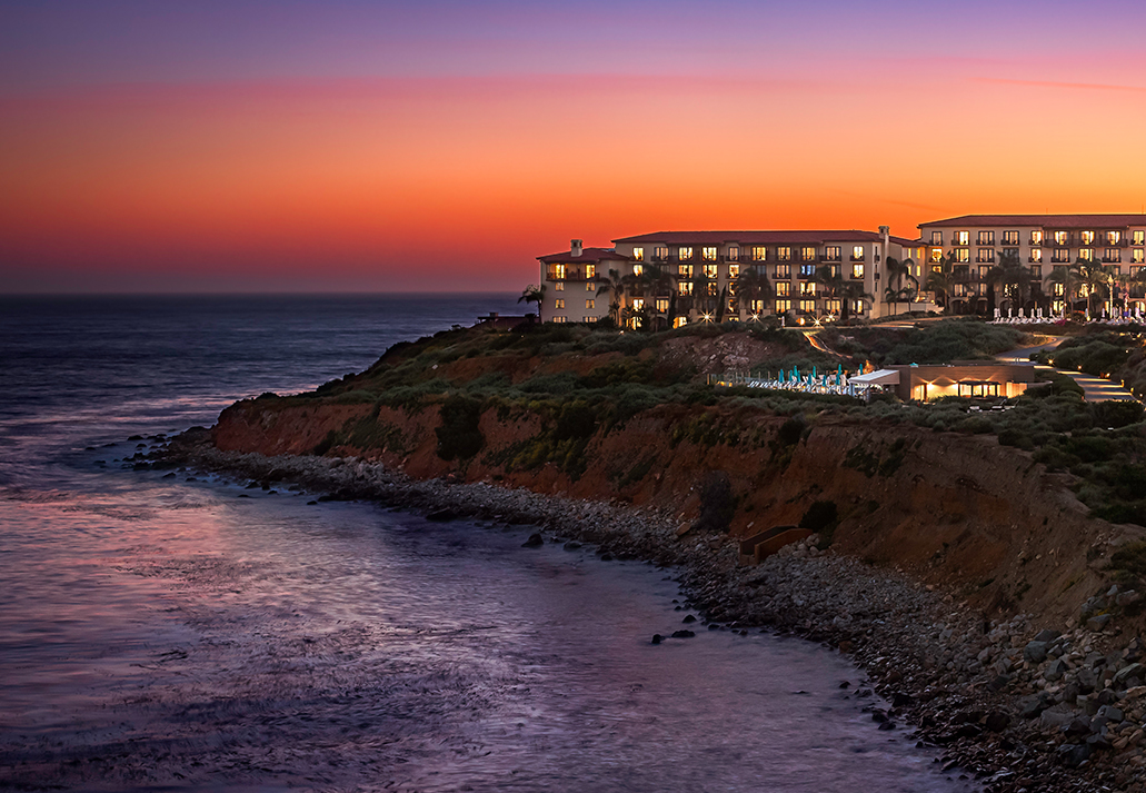 Terranea Resort at Sunset Courtesy Terranea Resort