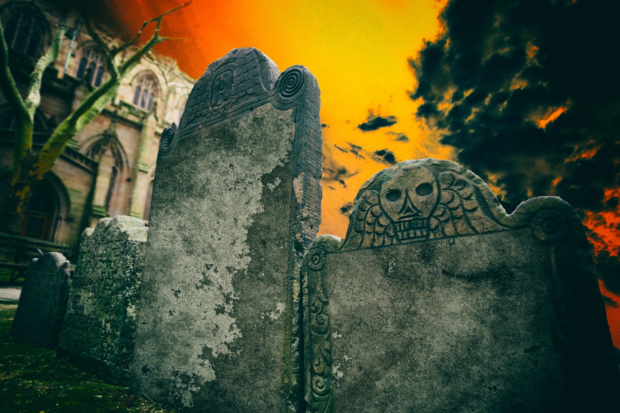 Trinity Churchyard for Halloween 2020 Events